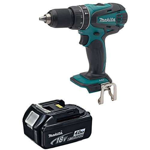 Makita XPH01Z 18-Volt LXT Cordless Hammer Drill Driver, 4.0 Ah BL1840 Battery Review
