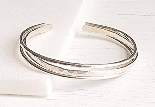 Three Different Sterling Silver Bangles