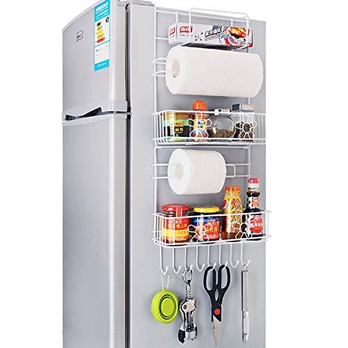 XCXDX Rejillas para Refrigerador Artículos para El Hogar De Pared Lateral Alacena De Cocina Estante De Almacenamiento De…