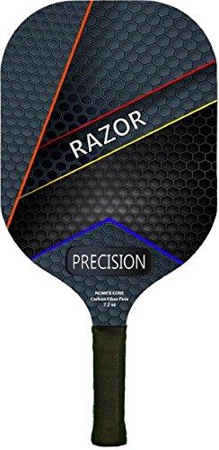 (Water Sports Razor Precision Nomex Core Carbon Fiber Premium Pickleball Paddle)