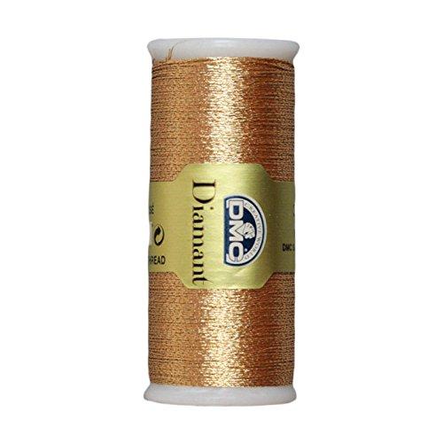 Copper Floss - DMC Diamant Metallic Needlework Thread, 38.2-Yard, Copper