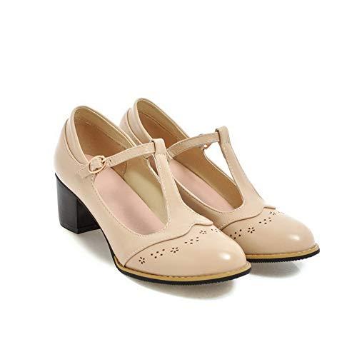 SDC05744 Compensées 5 36 Sandales Beige Femme Beige AdeeSu RdZqR