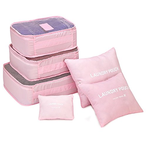 china-telecom-travel-organizer-laundry-pouch-luggage-bag-packing-cubes-6-sets-pink
