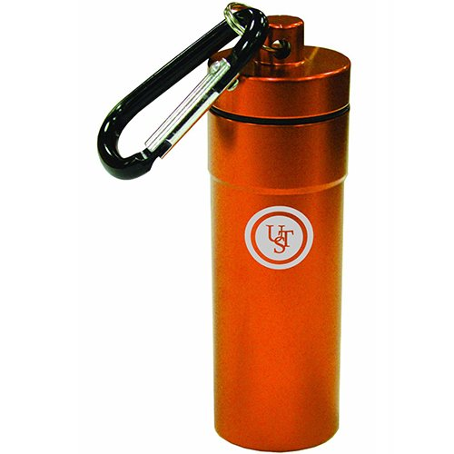 UST Anodized Aluminum B.A.S.E. Case 1.0 with O-ring Seal, Orange