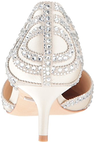 Badgley Mischka Womens Ginny Dress Pump Ivory