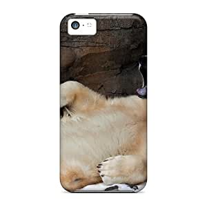 CQt4555zObn Anti-scratch Cases Covers Favorcase Protective Lazy Bear Cases For Iphone 5c