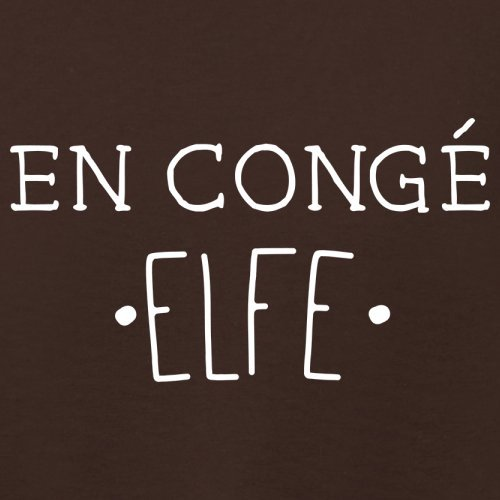 En congé fantasy elfe - Femme T-Shirt - Maron Foncé - M