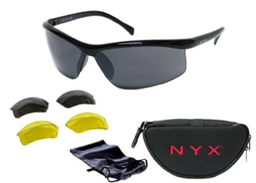 NYX Lightning 3 Lens Sunglass (Black)