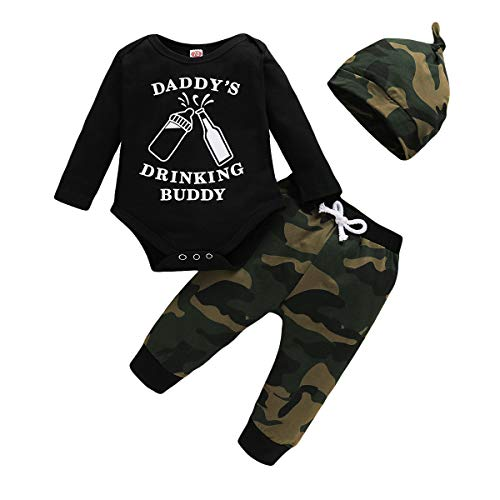 Toddler Baby boy Summer Fall Clothes Outfits Cotton Camouflage Print Sleeveless Vest + Camo Pants Boy Clothes Set