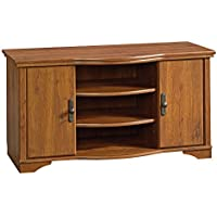 Sauder Harvest Mill Entertainment Credenza, Abby Oak