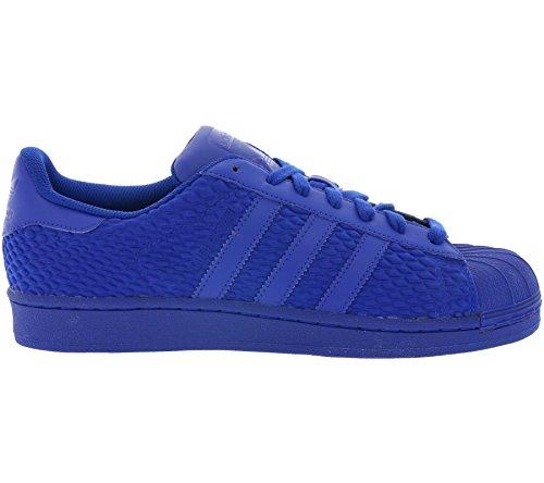 adidas Originals Superstar Mens Trainers S31641 Sneakers Shoes (US 7.5, Royal Blue AQ3050)