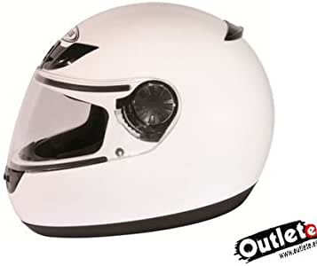 Amazon.es: CASCO ZEUS HZ805 BLANCO + LIQUIDACION EXISTENCIAS
