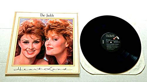 The Judds Heartland - RCA Records/Curb Records 1987 - Used Vinyl LP Record - 1987 Pressing - Don