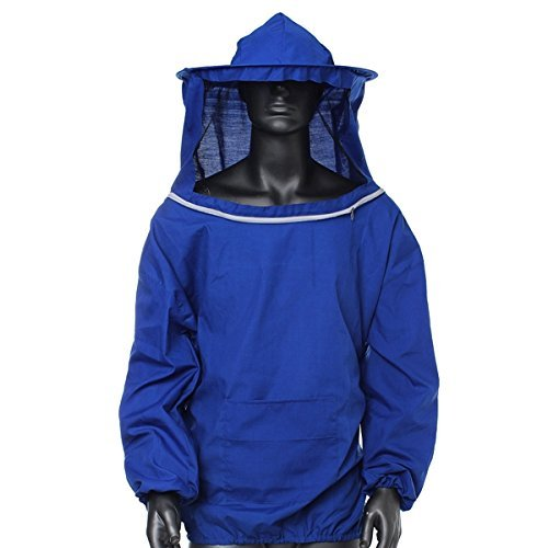 F.A.M.E Beekeeping Jacket Veil Bee Protecting Suit Dress Smock Equipment