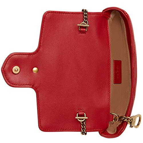 00e686c0478 Amazon.com  Gucci GG Marmont Matelasse Leather Super Mini Bag Handbag  Article 476433 DSVRT 6433  Shoes