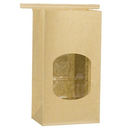 popcorn bags brown - 5
