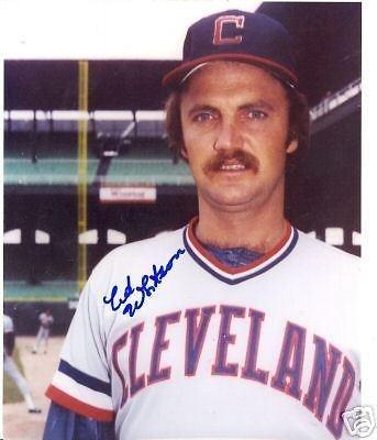 Ed Whitson Cleveland Indians Signed 8x10 Photo W/coa - Autographed MLB Photos