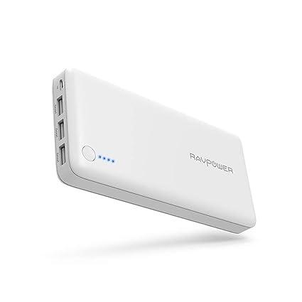 Amazon.com: Cargador Portátil RAVPower 26800 Baterías Packs ...