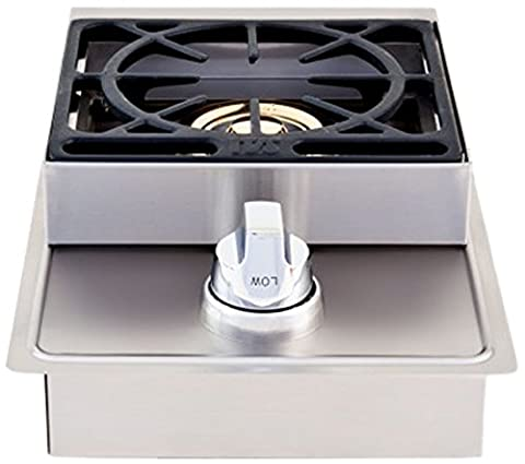 Lion Premium Grills L5631 Natural Gas Single Side Burner, 20-1/2 by 12-1/2-Inch - Natural Gas Grill Regulator