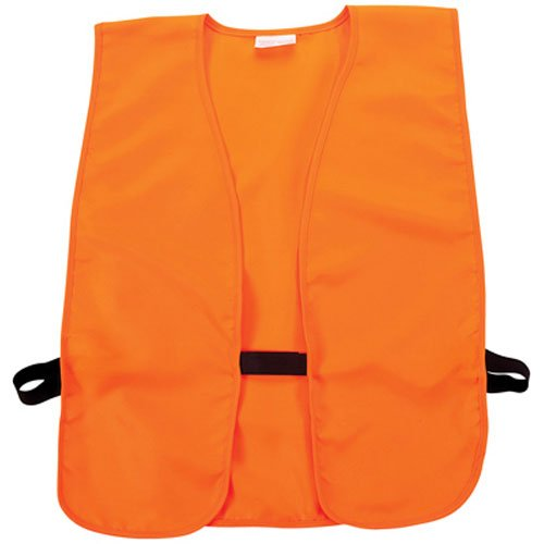 Allen Company Orange Adult Safety Vest Chest (Blaze, 38-Inch to 50-Inch)