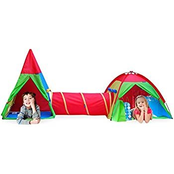 Amazon Com Giga Tent Action Dome And Teepee With Tunnel
