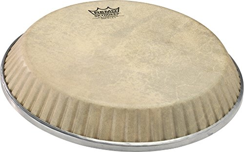 Remo Symmetry Skyndeep Conga Drumhead - Calfskin Graphic, 11.06'' by Remo (Image #1)