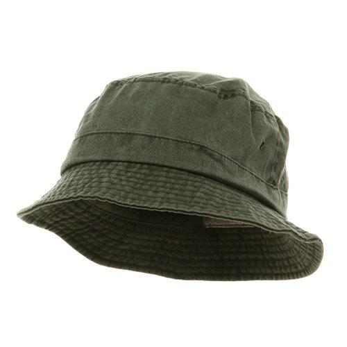 Washed Hats-Olive]()