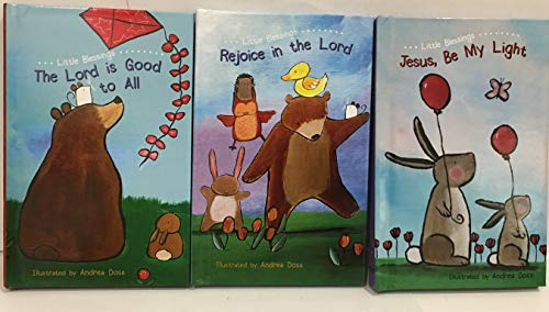 (Little Blessings 3 Books Collection: Jesus, Be My Light, Rejoice in The Lord & The Lord is Good to All (Flowerpot Press))