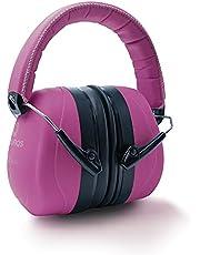 Prolifiqs Gehoorbescherming voor volwassenen in verschillende kleuren – getest tot 98 dB I geluidsbescherming hoofdtelefoon volwassenen I PVC-vrije geluidsbescherming hoofdtelefoon voor vrouwen en mannen I Pink