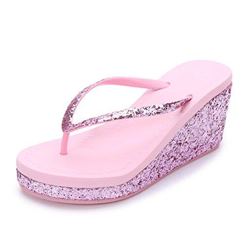 Flops Havaianas Flip Estate Ciabatte Pink Sandali Tacco Spiaggia Infradito Alto g6qqwH