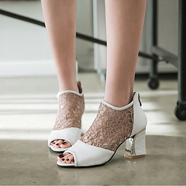 Customized Heels Women'S Office EU38 Gladiator CN38 Spring Party Zormey US7 amp;Amp; Soles Novelty Career 5 5 Light Club Comfort Hole Summer Shoes Shoes Materialswedding UK5 Oqn5nwdZ