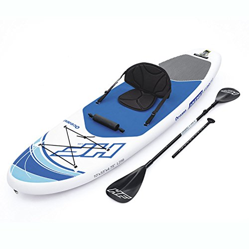 Bestway Hydro Force Inflatable 10 Foot Oceana SUP Stand Up Lake Paddle Board by Bestway