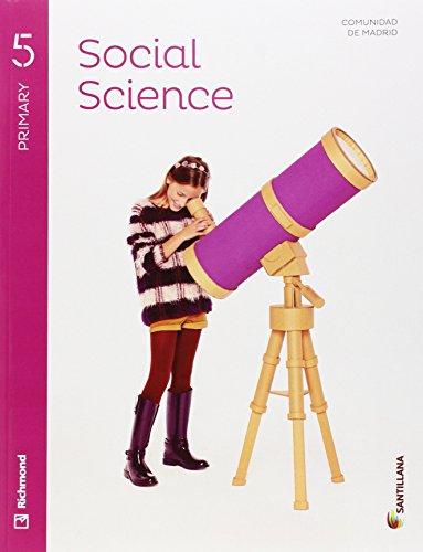 SOCIAL SCIENCE 5 PRIMARY STUDENT'S BOOK + CD - 9788468032849 por Aa.Vv.