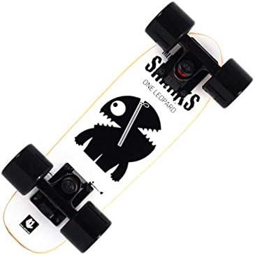 16インチミニクルーザースケートボードガールズキッズボーイズユース成人初心者向け、カナダメープルボードポータブルスケートボード、複数のデザイン