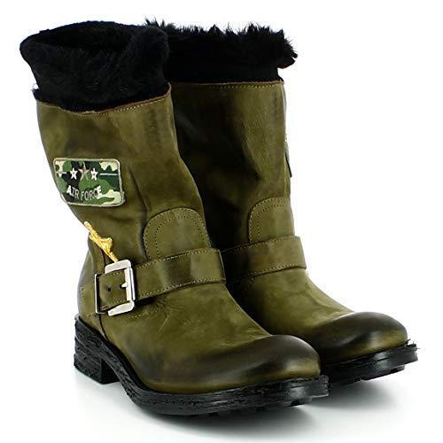 Follie Follie Follie Divine Donna Tacco Stivali Stivali Stivali Verde Basso Ux6TqnPx