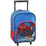 Atosa Sac à Dos à Roulettes Garçon Spiderman, 33180, 30 cm