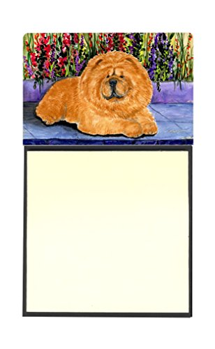 Chow Note - Caroline's Treasures SS8601SN Chow Chow Refillable Sticky Note Holder or Postit Note Dispenser, 3.25 by 5.5