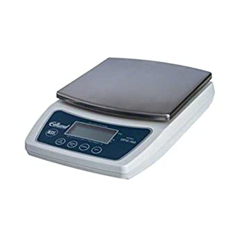 Edlund DFG-160 Digital Portion Control Scale, 10 lb, Silver
