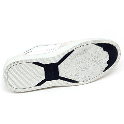 D0872 sneaker alta uomo GUARDIANI SPORT TRUMAN scarpa bianco/ghiaccio shoe man Bianco/Ghiaccio