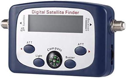 Portable JS-SF06 Digital LCD Buscador de satélite Medidor de ...