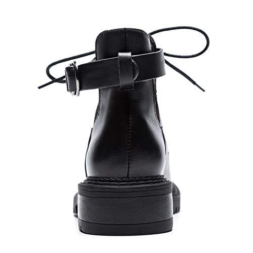 Noir Sandales Femme Noir 5 Pu Compensées 36 Balamasa Abm13163 xIqB754wq1