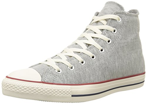 Sneaker Grey Fleece Unisex Hi A All Alto Collo adulto Star Converse Melange qZUwvHIn