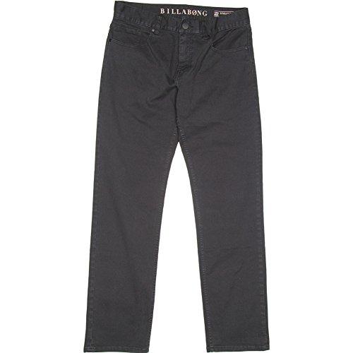 Billabong Men's Straight Fifty Overdye Pants,Black,38 ()