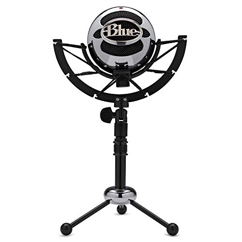 Blue Microphones Snowball USB Microphone (Brushed Aluminum) with Knox Gear Shock Mount Bundle from Blue Microphones