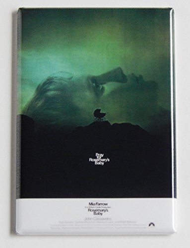 Rosemary's Baby Movie Poster Fridge Magnet (2 x 3 inches)