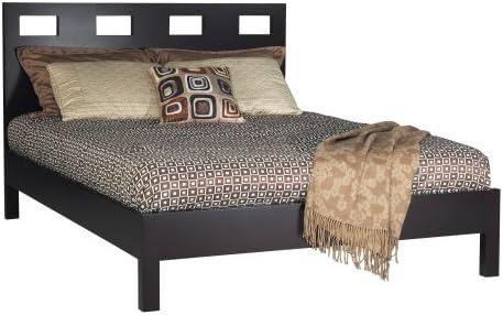 Modus Furniture Riva Platform Bed, Espresso, California King
