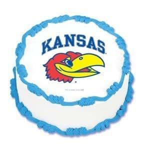 Amazon.com: NCAA University of Kansas ~ Edible Cake Image ...