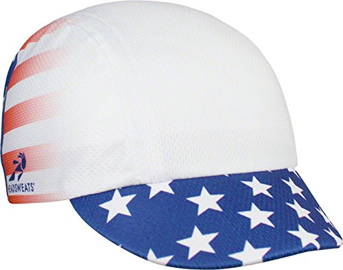 Headsweats Spin Cycle Cycling Cap: Stars and Stripes