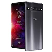 TCL 10 Pro Unlocked Android Smartphone with 6.47″ AMOLED FHD + Display, 64MP Quad Rear Camera System, 128GB+6GB RAM, 4500mAh Fast Charging Battery