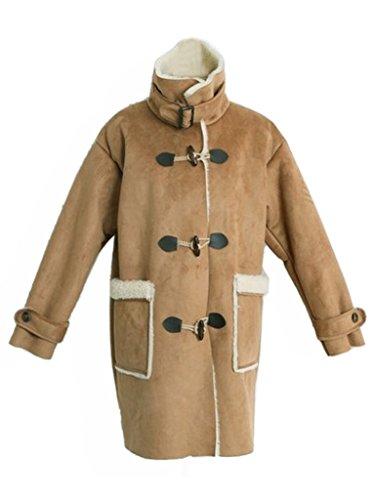 Shearling Toggle Coat - 4